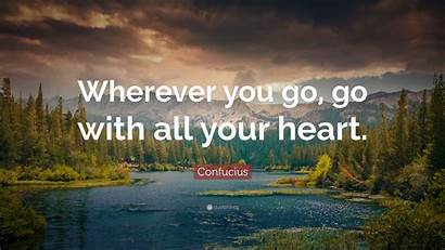 Travel Wherever Quotes Wallpapers Heart Quote Background
