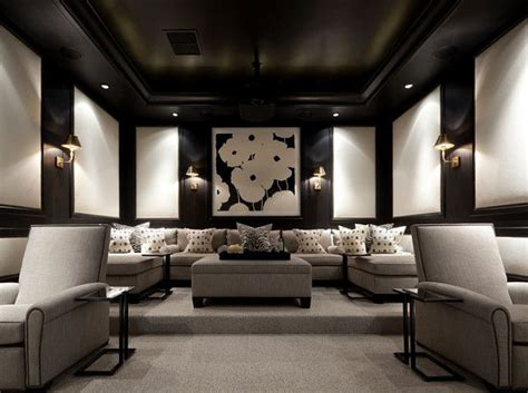 Media Room Furniture by Best 25 Media Room Design Ideas On Media