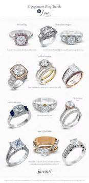 different styles of engagement rings engagement ring styles for every by wedding inspirasi simon g