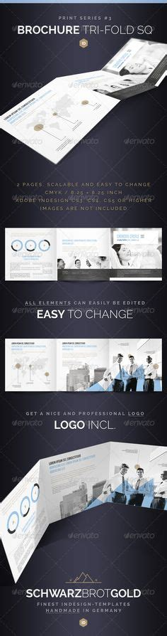 Graphicriver Brochure Tri Fold A4 Series 1 Origami Business Brochure A4 Indesign Template