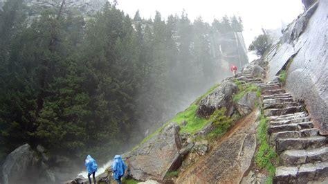 Quad The Mist Trail Vernal Falls Yosemite