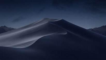 Mojave Macos Wallpapers Desktop 5k Iphone Night