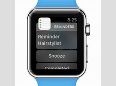 How To Use Reminders On Apple Watch iPhoneTricksorg