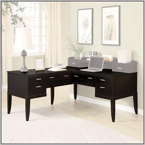 target desk l black l shaped desk target desk home design ideas
