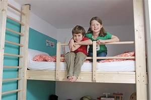 Hochbett Für Zwei Kinder : bauanleitung hochbett ~ Sanjose-hotels-ca.com Haus und Dekorationen