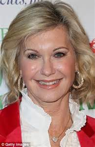 Olivia Newton-John shows off complexion amid rumours that ...