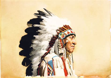 Indian Chief Image american wolf image 287