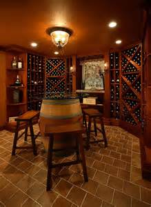 Contemporary Wine Cellar Room