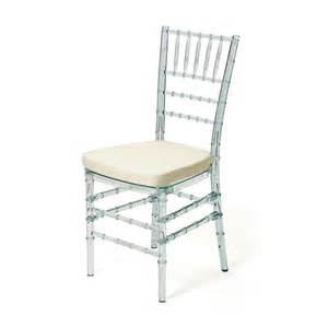 Etsy Dining Chairs by Clear Lucite Quot Wedding Quot Chair W Seat Pad Acrylic Bamboo