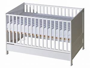Babybett Umbaubar Zum Juniorbett : belivin 2in1 babybett gitterbett 140x70cm wei umbaubar zum juniorbett jugendbett inkl ~ Watch28wear.com Haus und Dekorationen