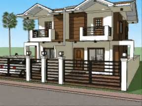 home plans for narrow lots small house plan design duplex unit