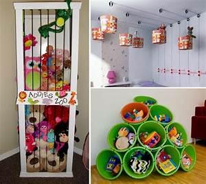 Ideen Für Kinderzimmer : kinderzimmer aufbewahrung f r spielsachen kids stuff ~ Michelbontemps.com Haus und Dekorationen