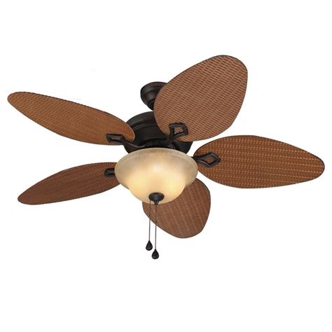 harbor breeze outdoor ceiling fan harbor breeze bridgeford 44 in outdoor ceiling fan lowe