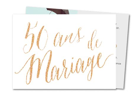 carte invitation anniversaire mariage 50 ans carte d invitation mariage 50 ans noces d or planet cards