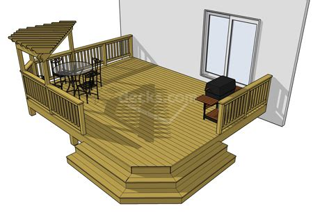 12 free deck plan sizes available to immediately
