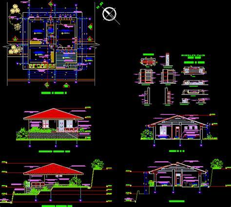 cabana de adobe dwg block  autocad designs cad