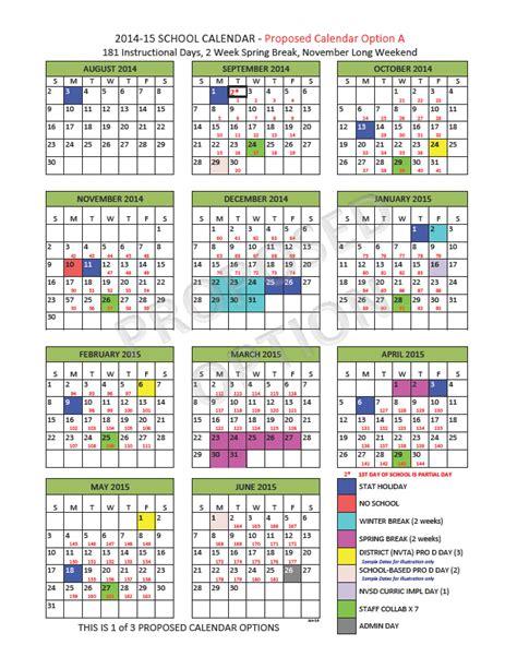 school calendar steering group north vancouver school district
