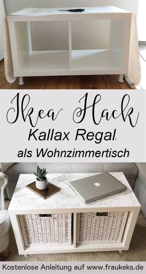 ikea kallax tisch wie ihr aus einem einfachen kallax regal einen stylischen wohnzimmertisch baut erfahrt ihr in