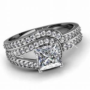 Diamond wedding ring sets for women grand navokalcom for Ladies diamond wedding ring sets