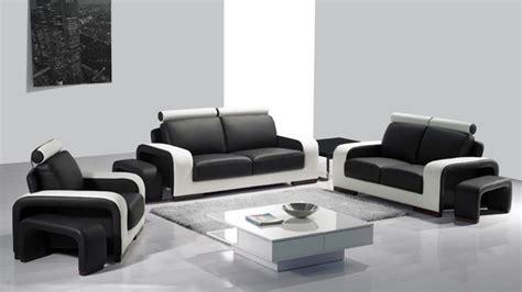 salon canape noir davaus salon moderne canape noir avec des idées
