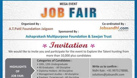 Cover letter job fair costumepartyrun sample letter for job fair invitation cover letter templates stopboris Images