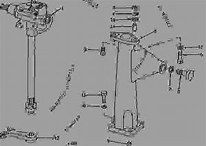 Manual Steering Gear And Support  02a21
