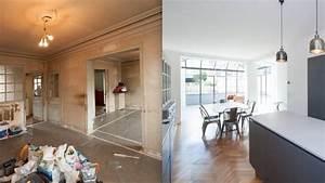 Renovation Maison Avant Apres Travaux : r novation paris 4 exemples avant apr s habiteum ~ Zukunftsfamilie.com Idées de Décoration