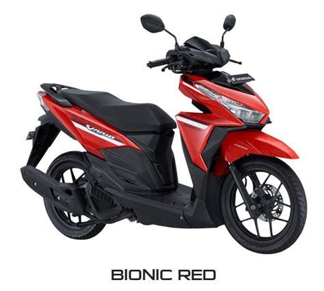 Modif Vario 125 2017 by Honda Vario 125 2017 Merah Warungasep