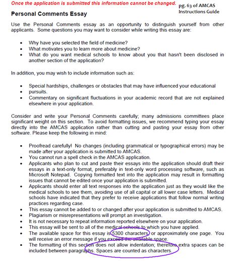 How To Write A Personal Summary For A Resume by Writing For Premed Personal Statements