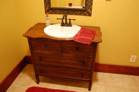 bathroom vanities images turn a dresser into a vanity easy for the home