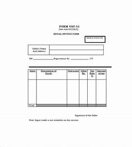 Retail invoice template 12 free word excel pdf format for Retail invoice template
