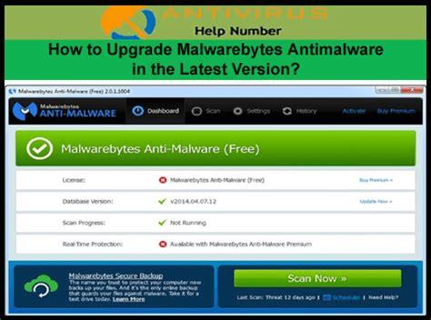 upgrade malwarebytes antimalware   latest