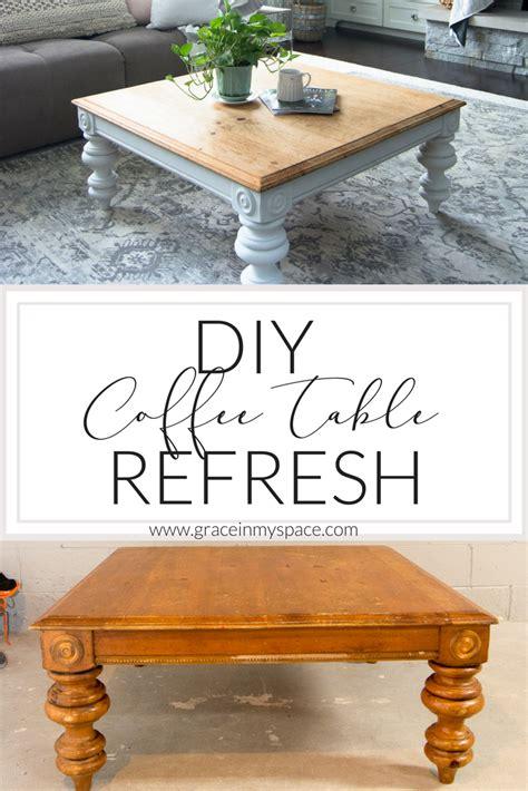 diy modern coffee table diy coffee table how to transform a thrifted coffee Diy Modern Coffee Table