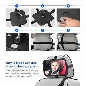 Auto Für Baby : r cksitzspiegel f r babys amzdeal bruchsicherer spiegel ~ Jslefanu.com Haus und Dekorationen