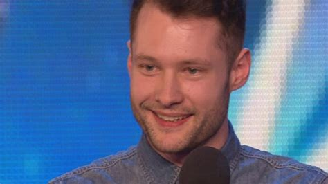 Simon Cowell Hits The Golden Buzzer For Calum Scott