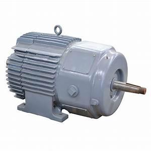 50 Hp 1155 Rpm 230  460 Volt Ac 3ph General Electric Motor