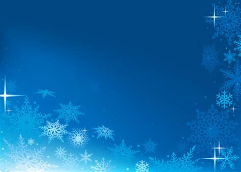 blue snowflake winter wonderland background  vector