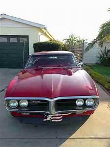 Find Used 1967 Pontiac Firebird Red  350c I   Hurst 4