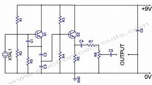 Crystal Controlled Oscillator Circuit