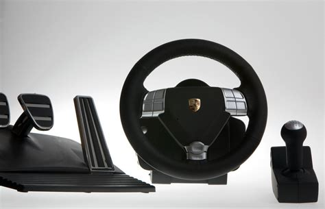 Review Porsche Branded Racing Wheel is Nearly Better Than