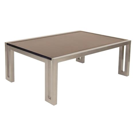 """Shop our wide selection of teak coffee table today. Castelle Icon 32"""" x 48"""" Rectangular Coffee Table 