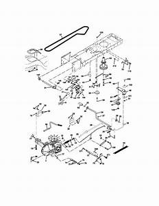 Craftsman Model 917273760 Lawn  Tractor Genuine Parts
