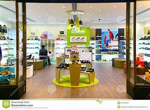 Clarks Shoes Retail Outlet Editorial Stock Image - Image ...