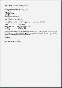 request letter to bank for account closure in word With account closure letter template