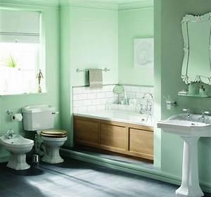les 25 meilleures idees de la categorie salles de bains With salle de bain couleur vert d eau
