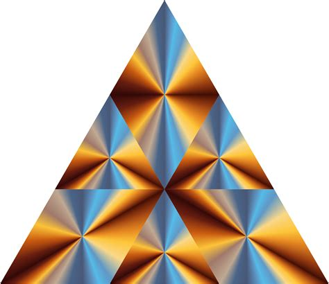 triangle prism vector graphic image  stock photo