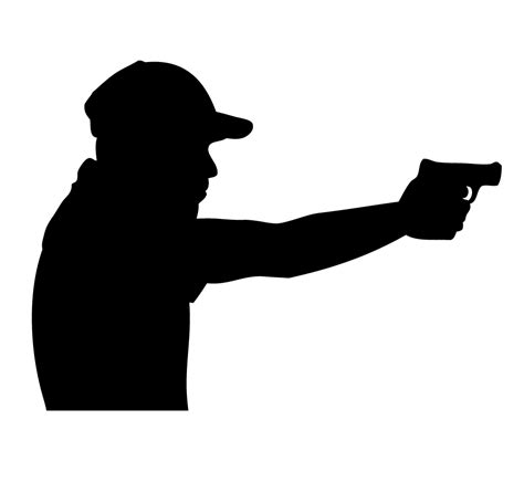 best 28 shooting silhouette shooting silhouette vector