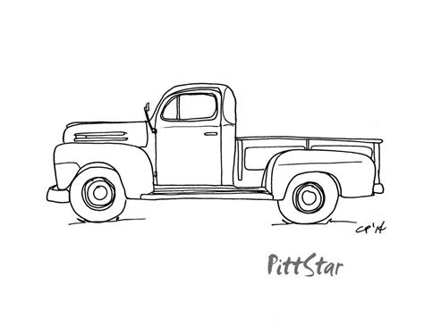 ford trucks  coloring pages sketch coloring page truck coloring pages truck tattoo