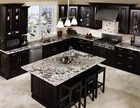 black cabinets in kitchen Black Kitchen Cabinets With Any Type Of Decor | HomeFurniture.org