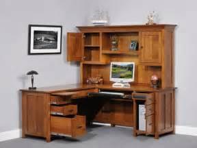 corner computer desk with hutch plans woodplans